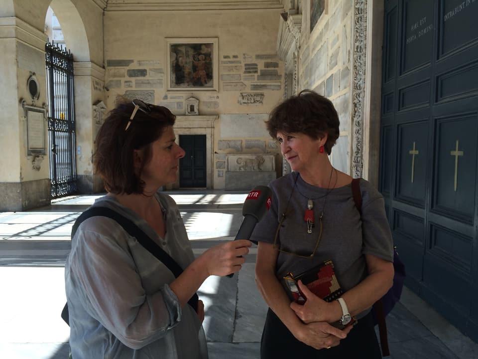 Pia Candinas ha nundumbraivlas regurdientschas ed istorgias en connex cun questa piazza.
