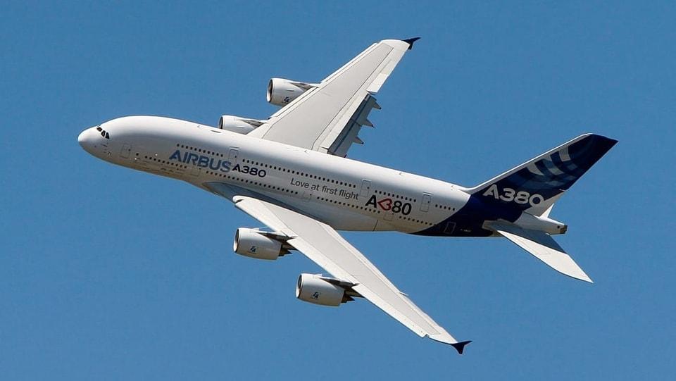 Zu gross und unökologisch - Airbus stellt Produktion von A380 ein