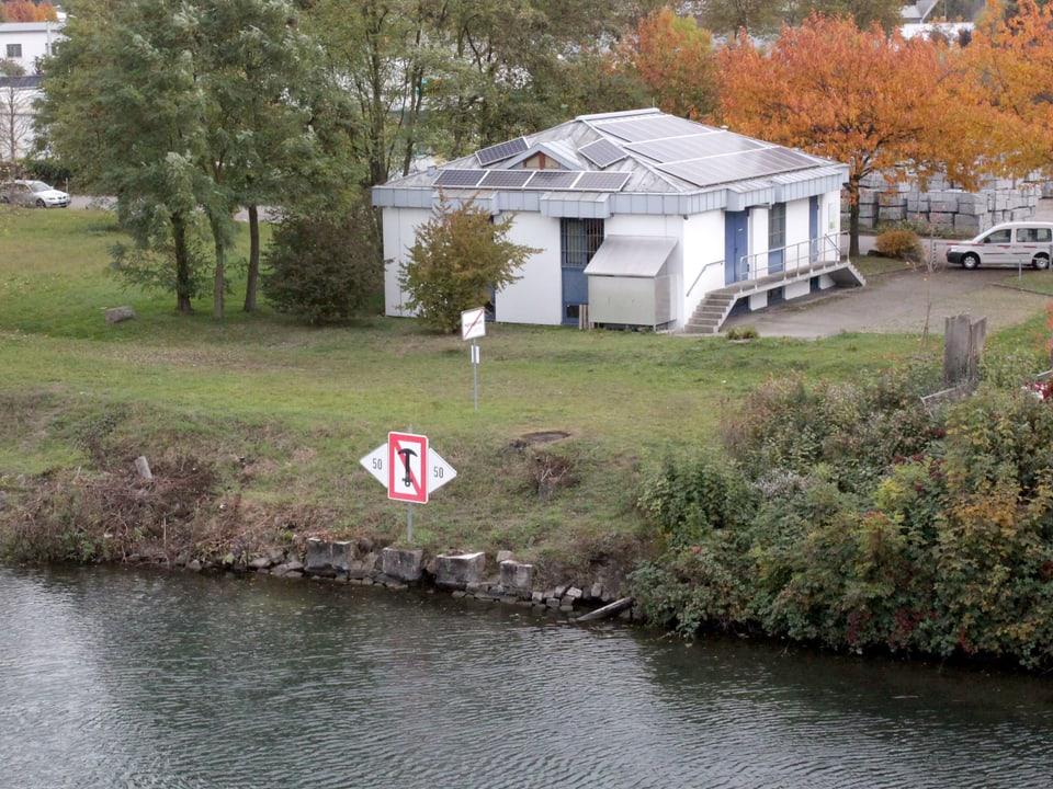 Die Rheinüberwachungsstation in Weil am Rhein