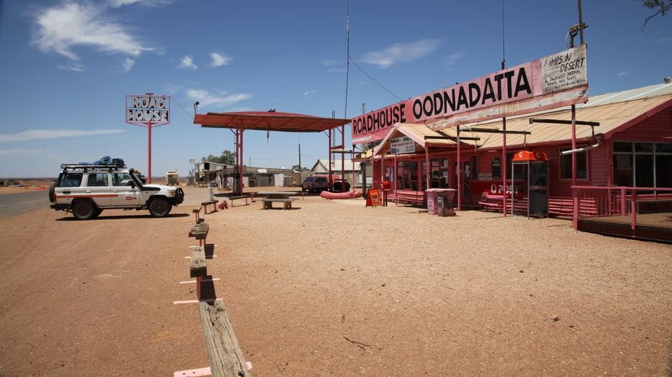 Roadhouse Oodnadatta