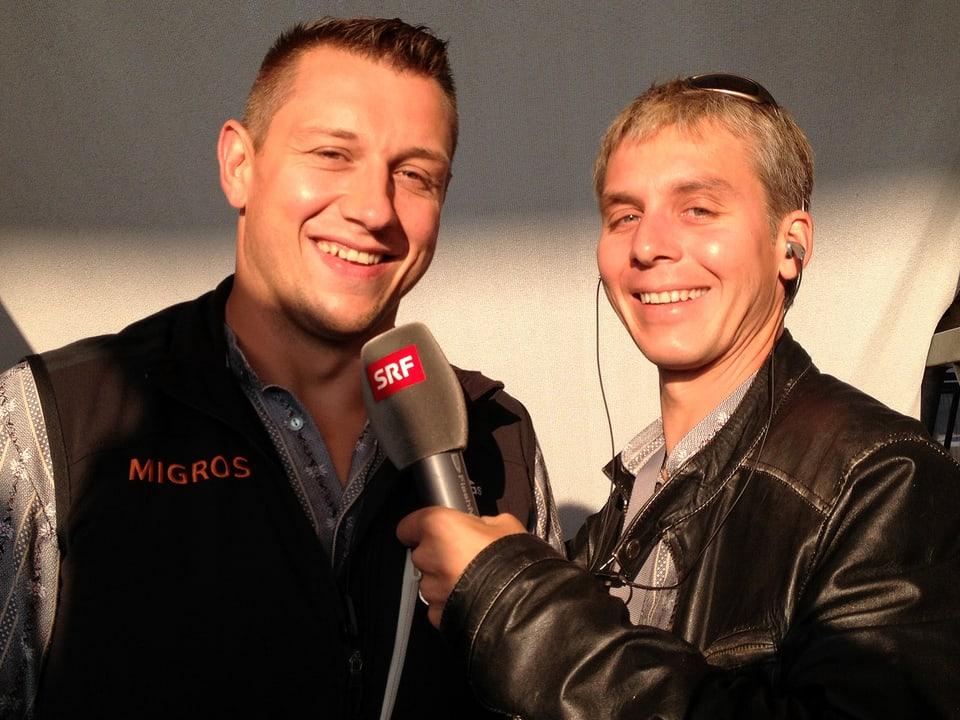 Jörg Abderhalden und Reto Scherrer.