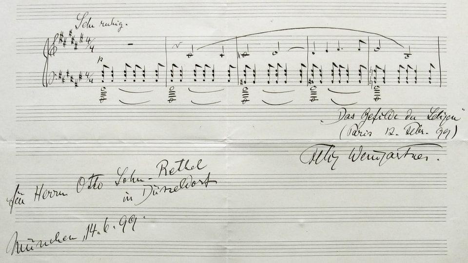 Musikalische Kriegsrüstung im Ersten Weltkrieg