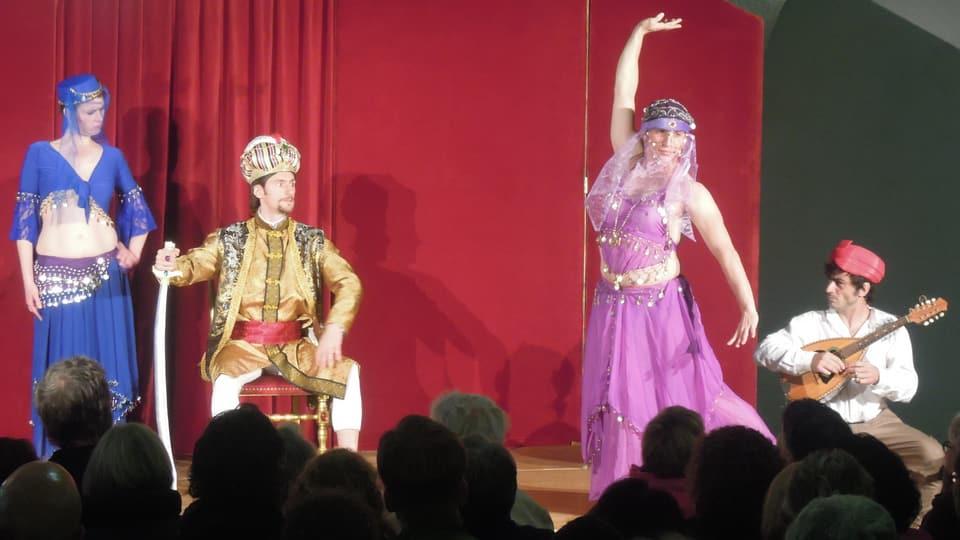 Bal oriental tar la premiera da «Tredeschin».