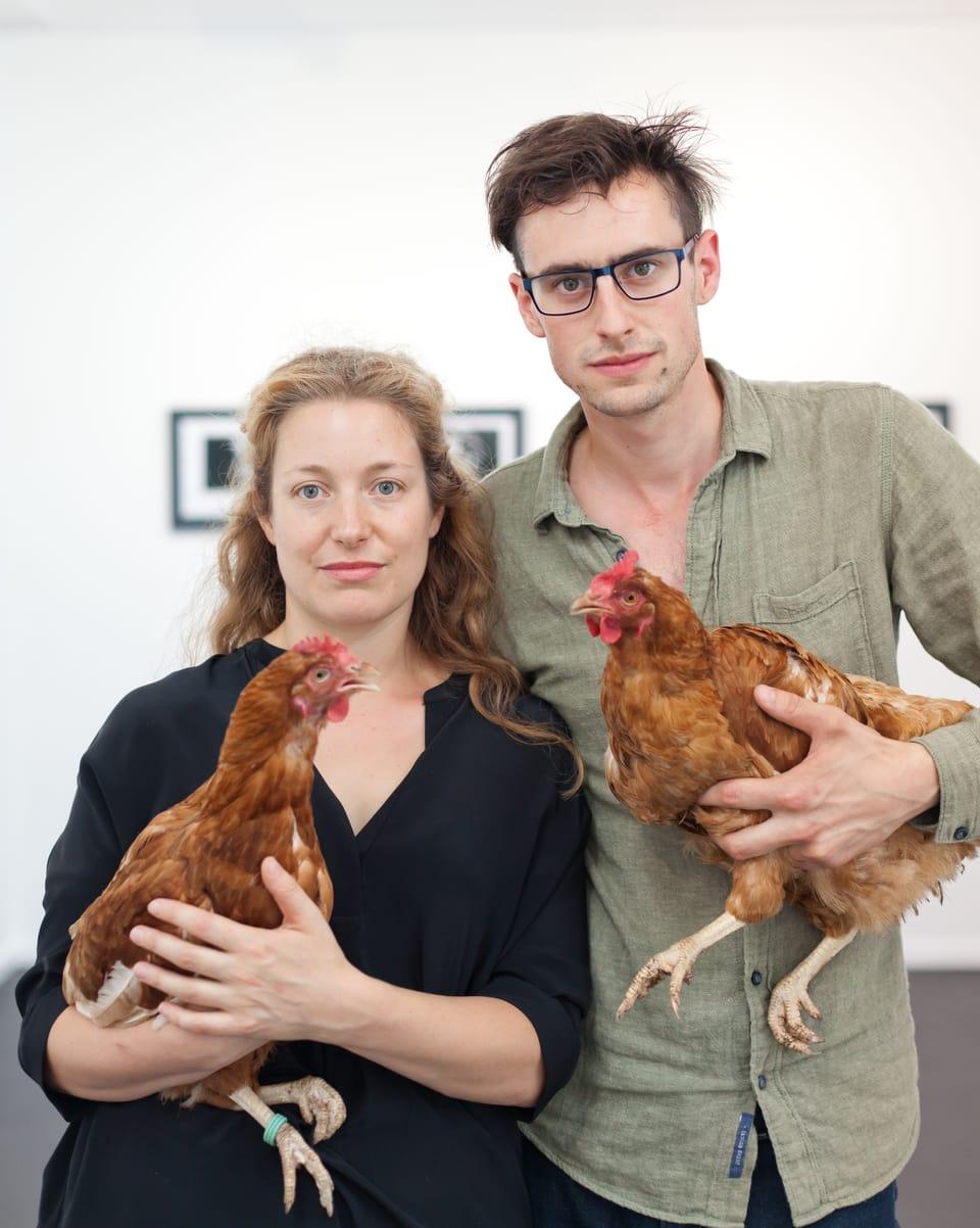 Dapi il 2014 collian Flurina Badel e Jérémie Sarbach lur art e lur amur
