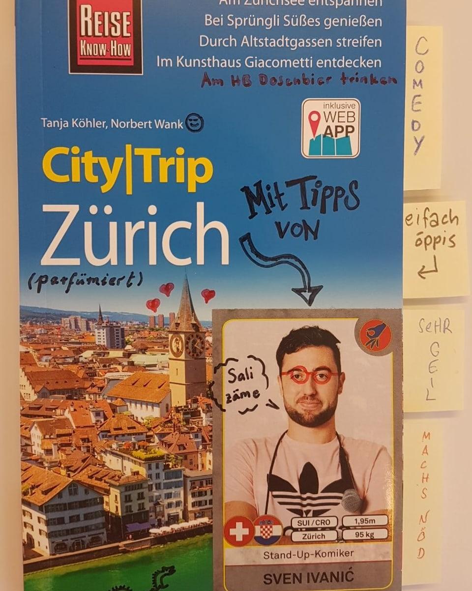 Sven Ivanic Reiseführer mit persönlichen Notizen