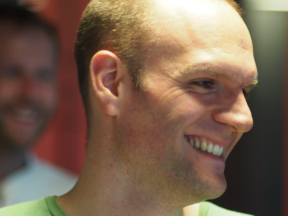 Porträt Morgenproduzent Stefan Wüthrich.