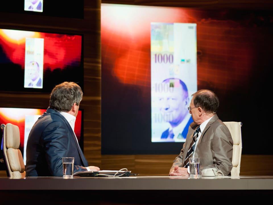 Das Gesicht von Roger de Weck ist auf der 1000er Note zu sehen