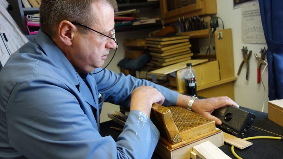 Accordar orgelets tutga tar las lavurs preferidas da Werner Platz.