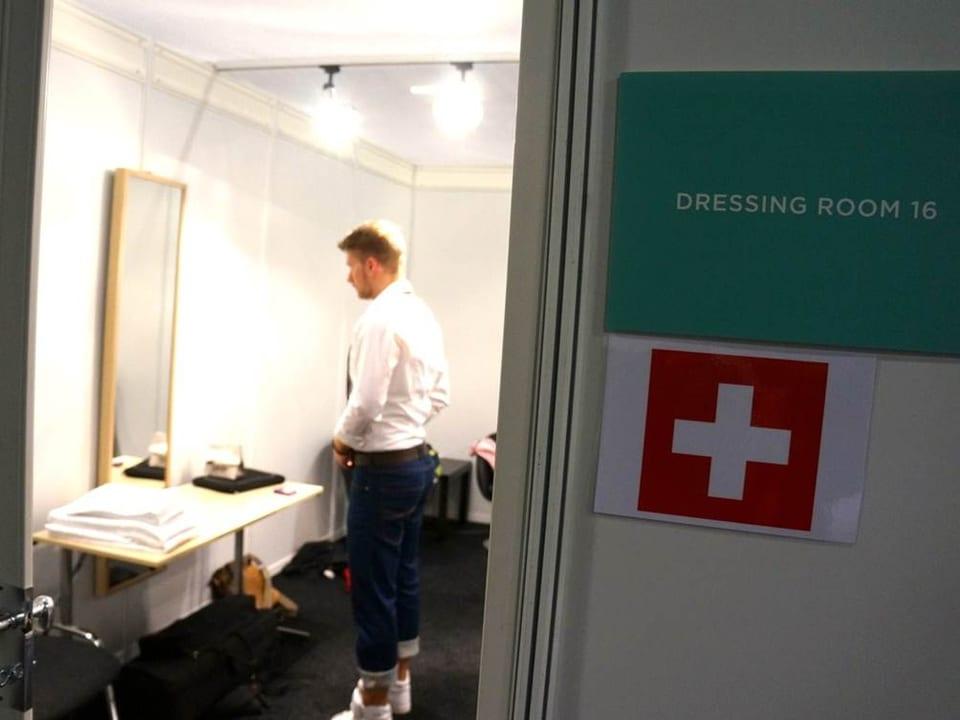Die Schweizer Garderobe.