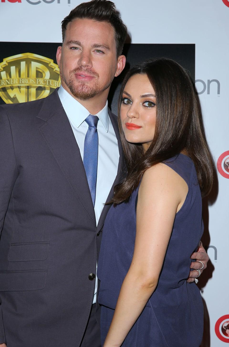 Mila Kunis mit Channing Tatum