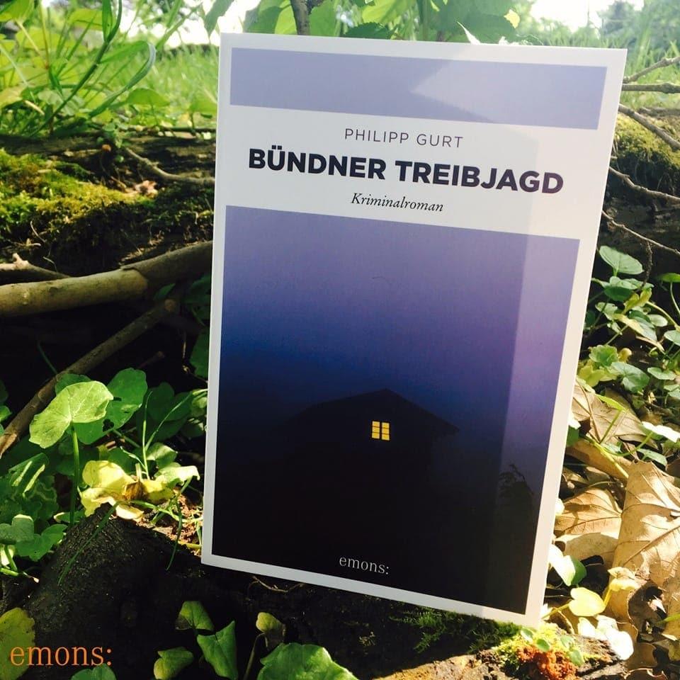 """Cuverta da ses nov cudesch """"Bündner Treibjagt""""."""