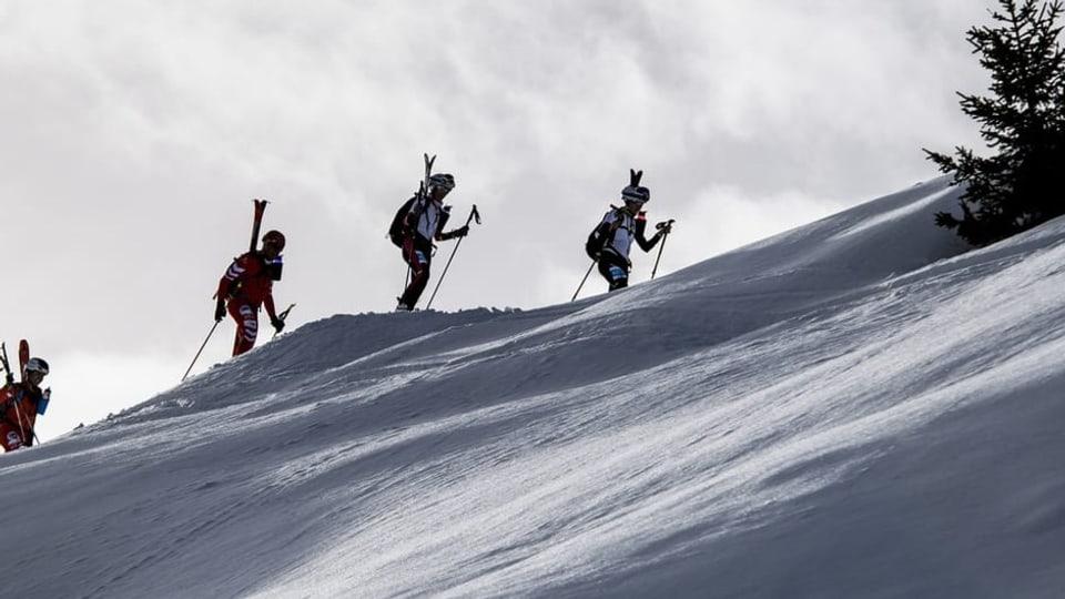 L'alpinissem da skis