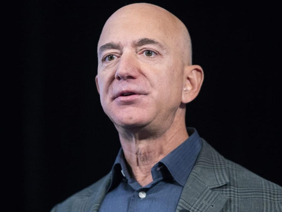 Platz 1: Jeff Bezos