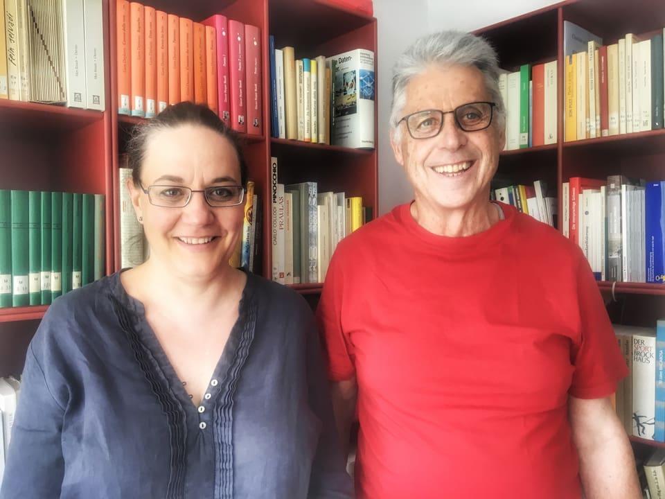 Ingrid Schütz Gasparini & Luzius Hassler