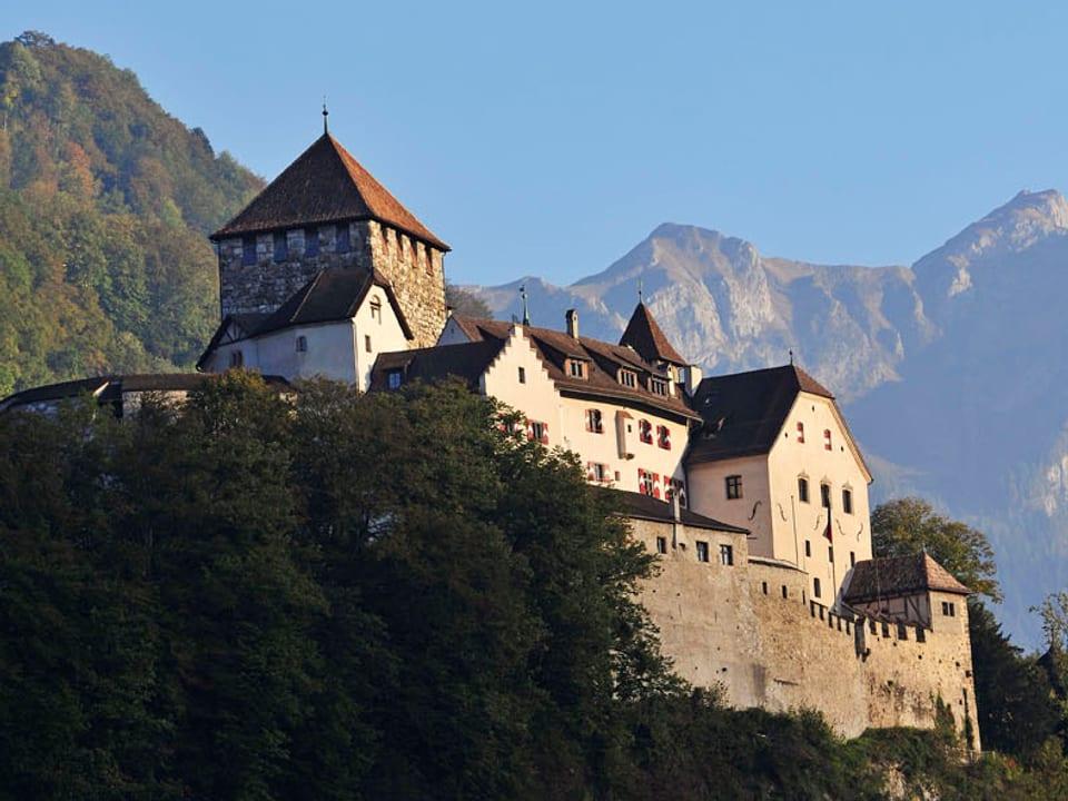 Schloss Vaduz - hier residiert der Fürst