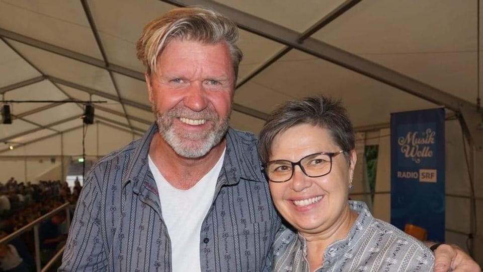 Bernhard Siegmann und Christine Gertschen