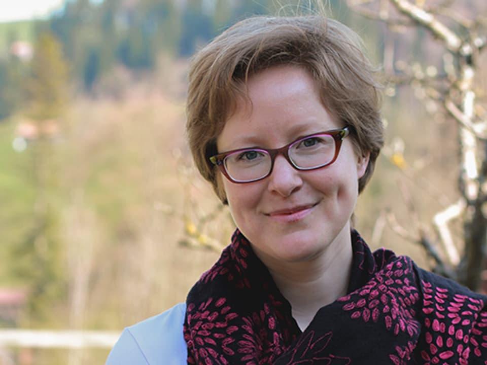 Die 34-jährige Julia ist ursprünglich aus Finnland, wollte in die Mongolei auswandern, lernte in England ihren Mann kennen und landete am Ende im Toggenburg.