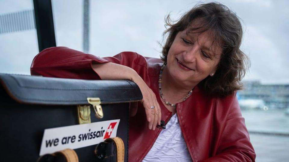 Wie Gabrielle Ritter zur ersten Swissair-Pilotin wurde