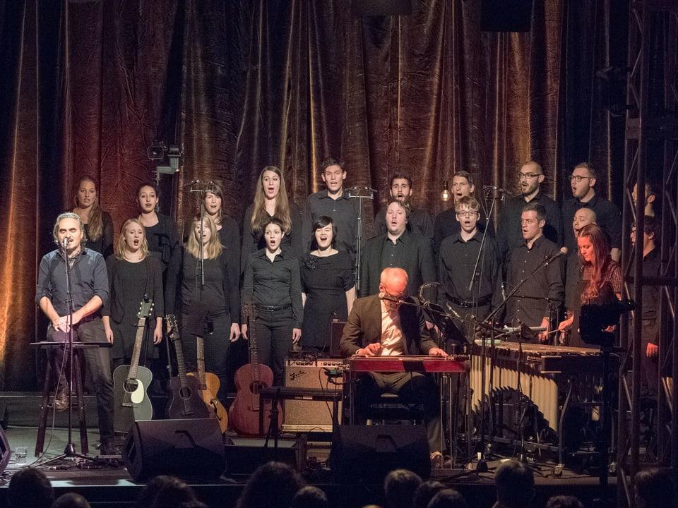 Der Luzerner Chor molto cantabile.