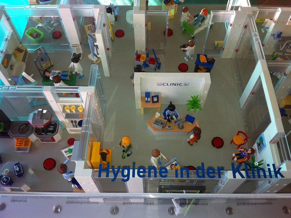 Playmobil-Modell.