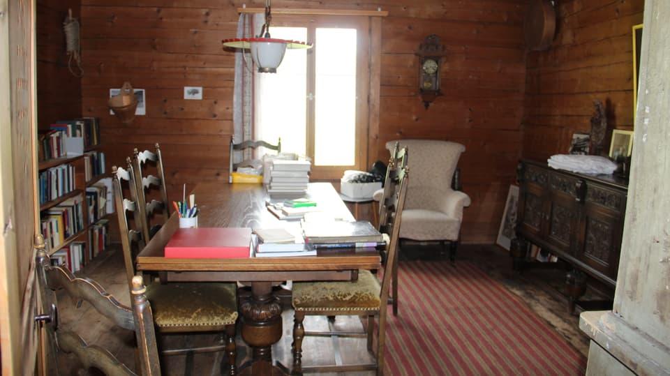La stanza originala dal 19avel tschientaner – ina giada ina chombra da charn – oz biblioteca.