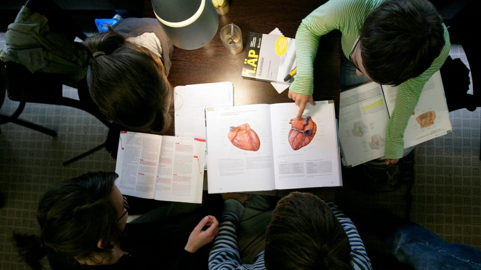 Schweiz tag der entscheidung f r angehende mediziner for Medizin studieren schweiz