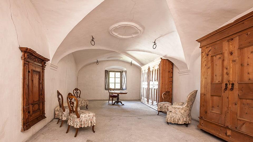 Tschertas stanzas da la Chesa Planta èn ozendi in museum d'abitar