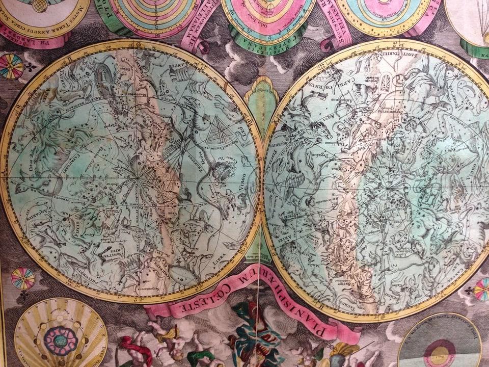 Atlas Novus von 1736.