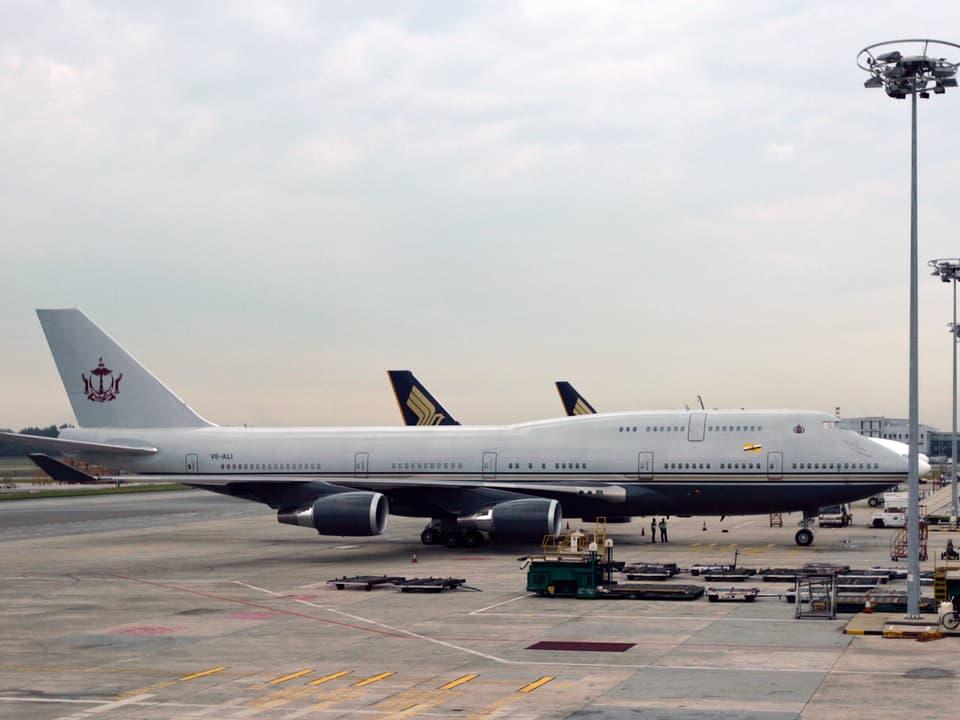 Flugzeug des Sultanats von Brunei.