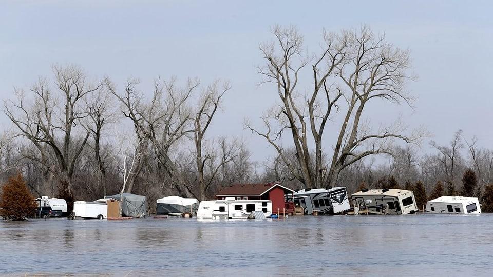 Tausende Menschen evakuiert – «Historische Fluten» im Mittleren Westen der USA