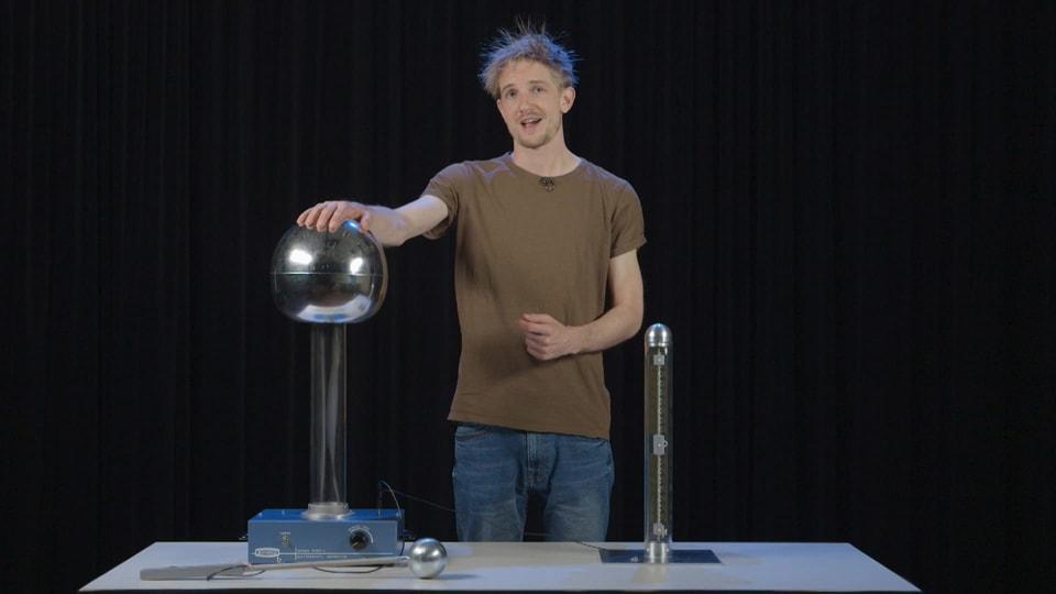 Pro Experiment ein Quiz, das ist «Einfach Physik!».