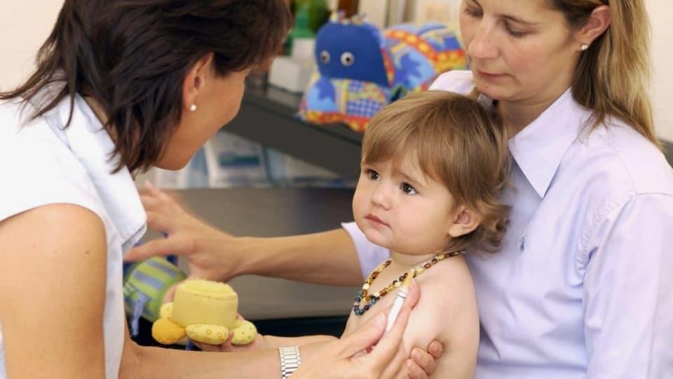 Millionen Kinder erhielten wegen Corona keine Basisimpfung.