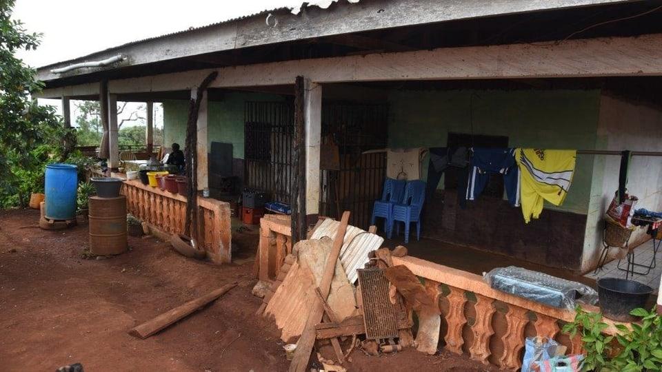 Katharina starb in ihrem Zuhause im Hochland Kameruns