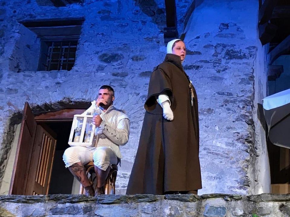 Il duo en il teater «Comander» (Glion, 2017)