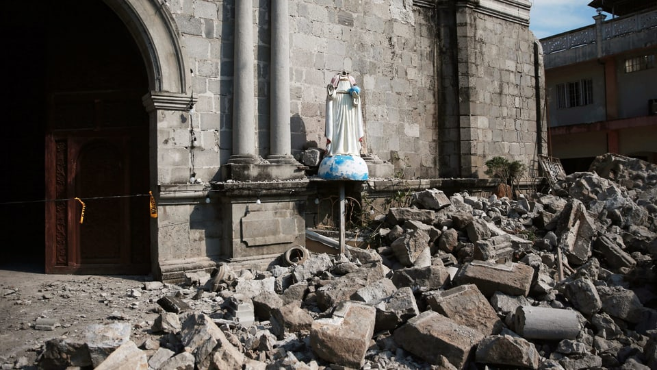 Stärke bis 6.5 – Neues Erdbeben erschüttert Philippinen