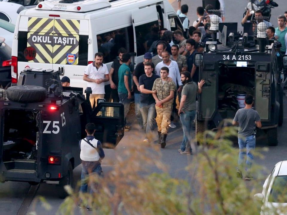 Soldat wird festgenommen