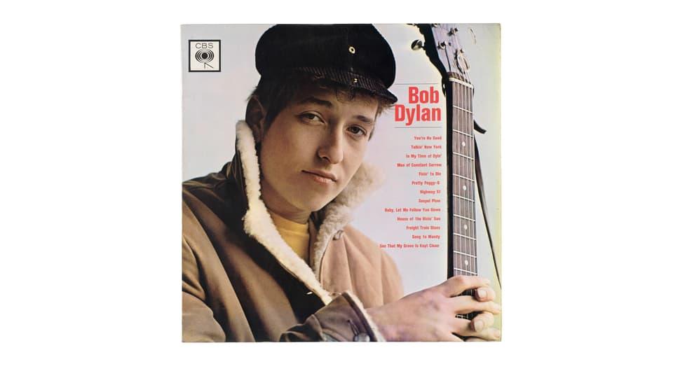 Cover LP Bob Dylan.