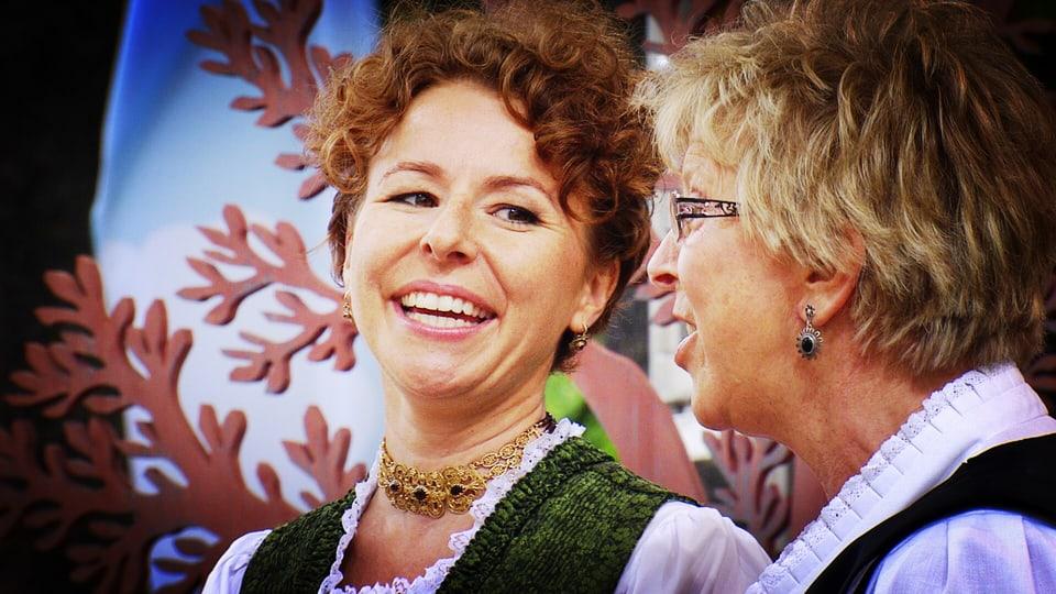 Nadja Räss und Marie-Theres von Gunten