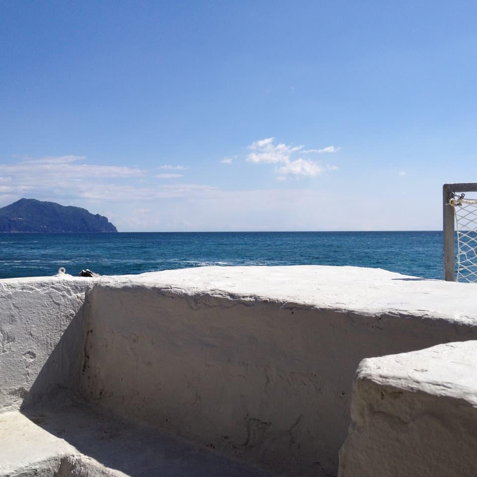 La Mar Ligura a Nervi.
