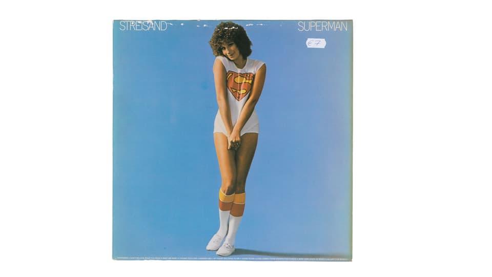 Cover LP Barbra Streisand.