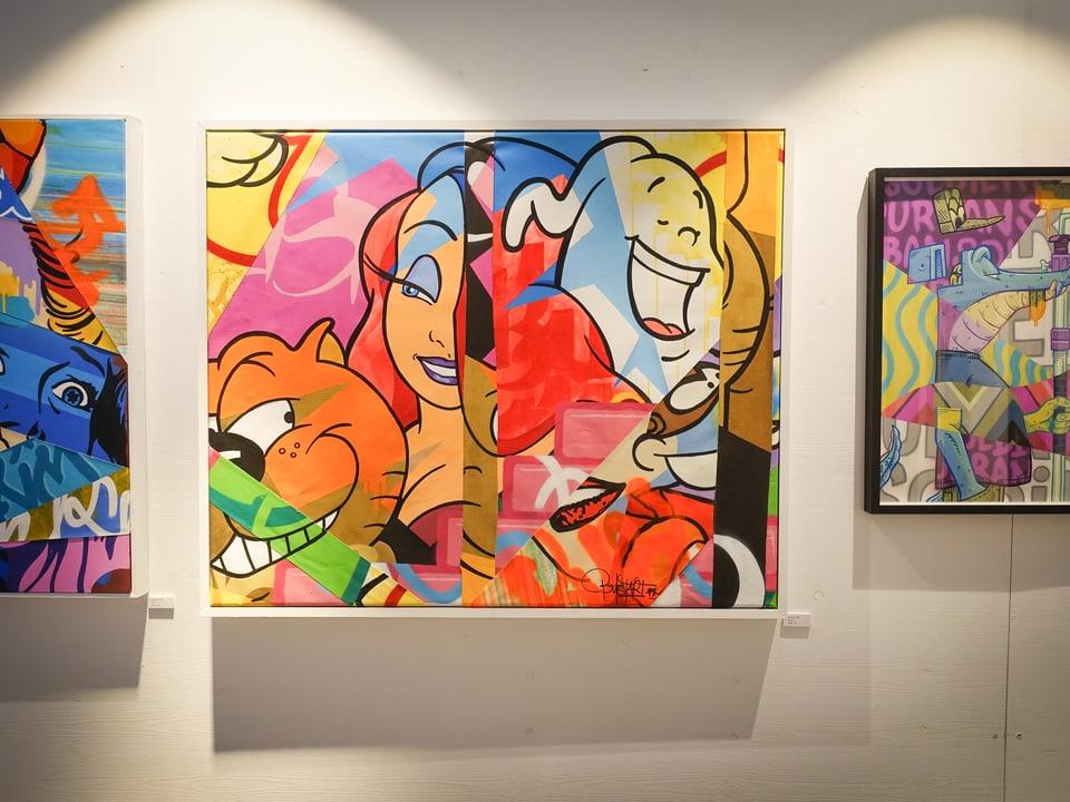 BustArt: Der Basler hat vor über 20 Jahren mit Graffiti begonnen, heute kann er von seiner Kunst leben