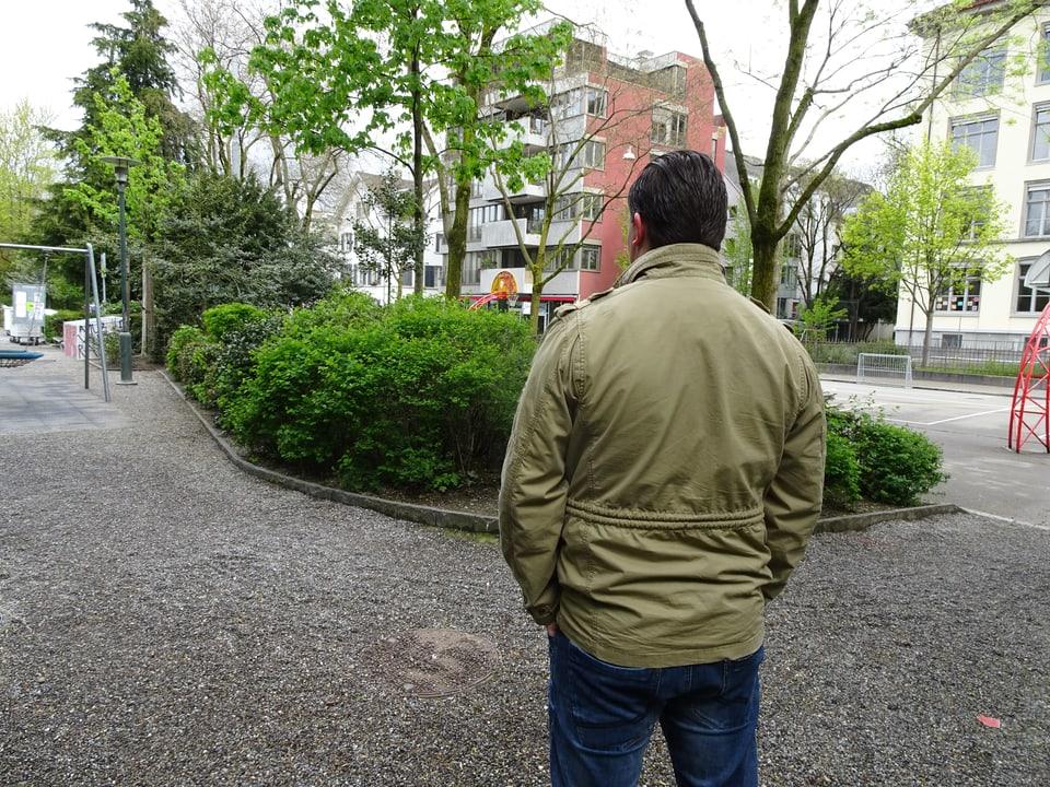 Polizist Christoph wurde bei einem Angriff am 1. Mai 2012 schwer verletzt