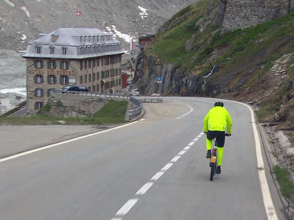 Richtung Rhonegletscher