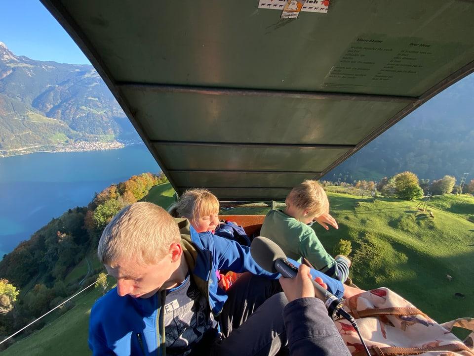 Der abenteuerlichste Schulweg der Schweiz