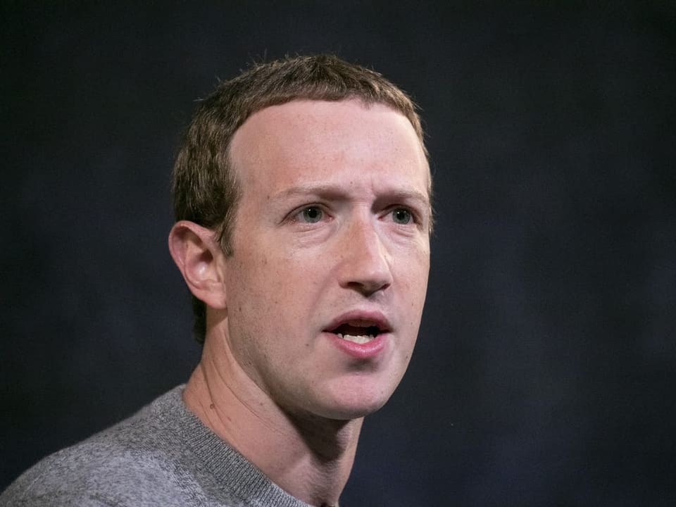 Platz 3: Mark Zuckerberg