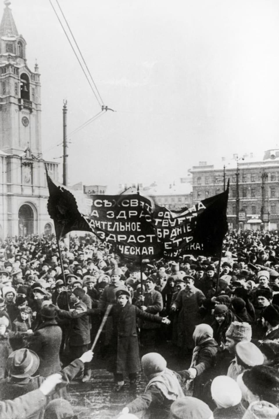 La revoluziun da favrer 1917