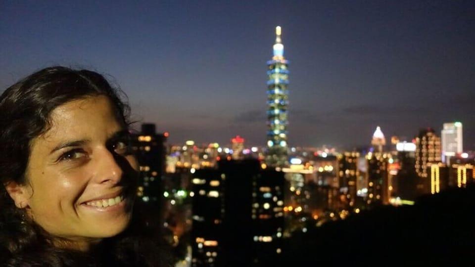 Angela Collenberg a Taipei
