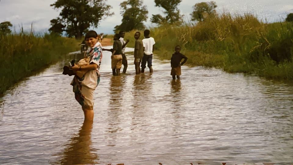 Purtret da Maria Chatrina Gisep Hofmann en l'Africa.