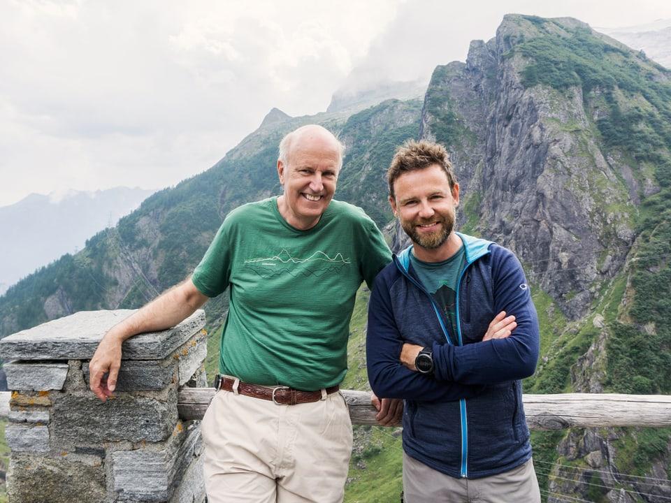 Ueli Nyffenegger und Nik Hartmann.