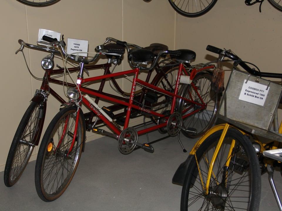 Tandem-Fahrräder